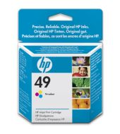HP 49 Tri-Colour Inkjet Print Cartridge