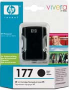 HP 177 Large Black Ink Cartridge