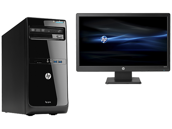 HP Pro 3500 Microtower PC Bundle