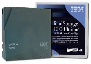 IBM LTO-4 WORM Data Cartridge